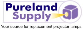 Pureland Supply Logo, Your Source for Projector Lamps